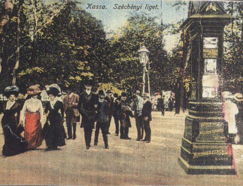 Mestský park v minulosti