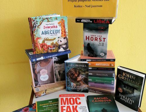 Nové knihy na pobočke Nad jazerom