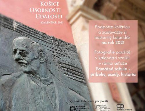 Kalendár Košice Osobnosti Udalosti