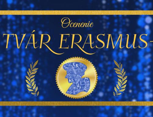 Zahlasujte za Tvár Erasmus+