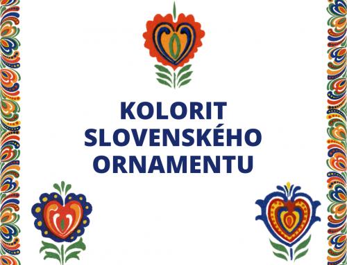 Kolorit slovenského ornamentu – zrušené