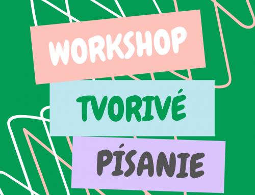 Tvorivé písanie – workshop