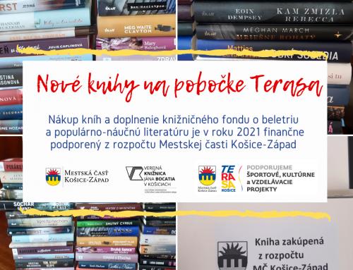 Nové knihy na pobočke Terasa