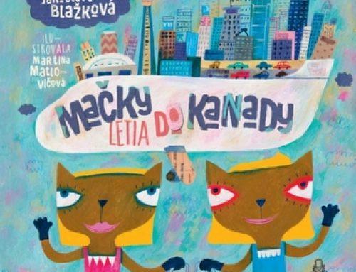Jaroslava Blažková: Mačky letia do Kanady