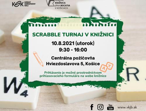 Scrabble turnaj
