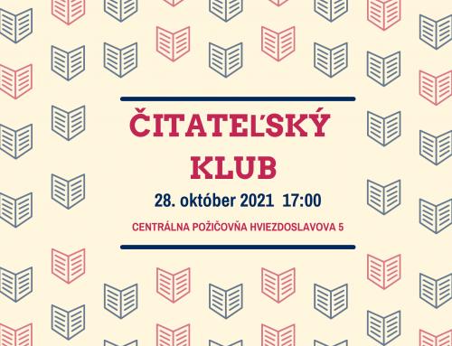 Stretnutie čitateľského klubu